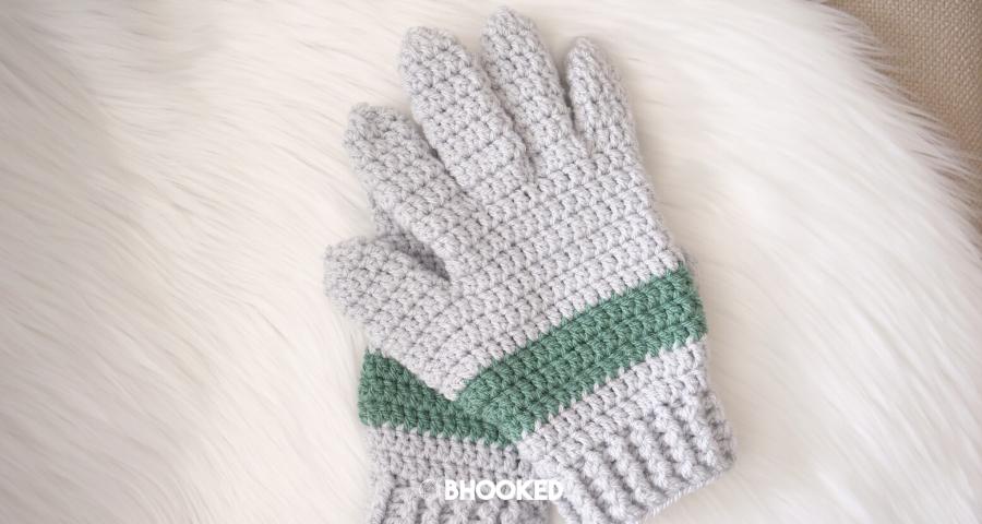 Mens Crochet Gloves| Crochet Challenge for Warm Up America