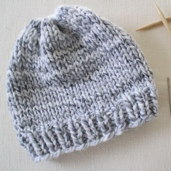 Beginner Knitting Patterns from B.Hooked