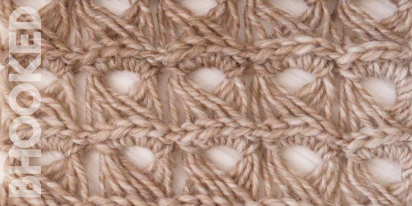 Broomstick Lace Crochet Stitch