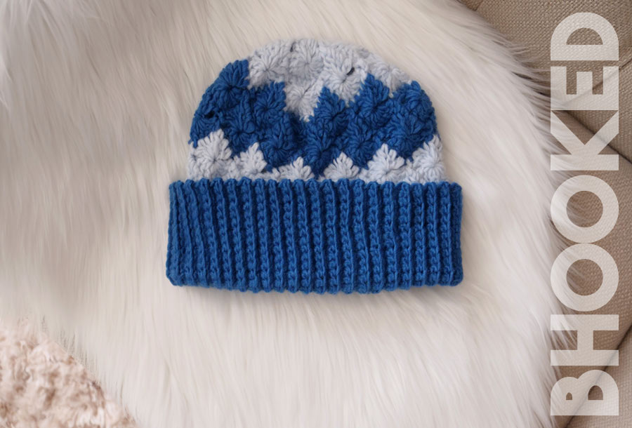 Catherine Wheel Stitch Crochet Hat