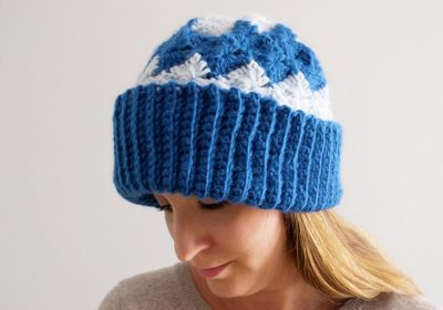 Catherine Wheel Stitch Crochet Hat