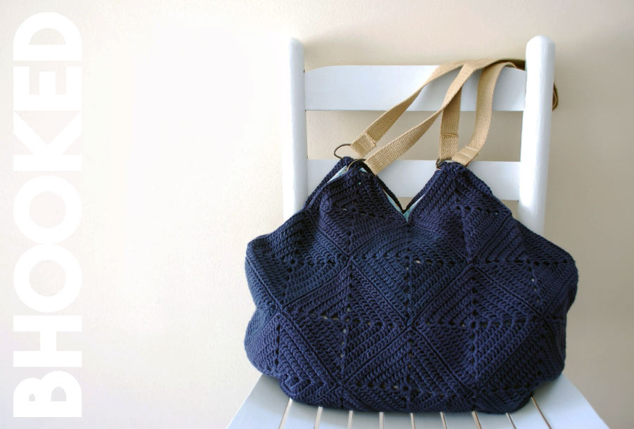 Granny Square Crochet Bag