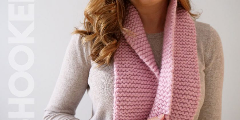 Beginner Knit Scarf