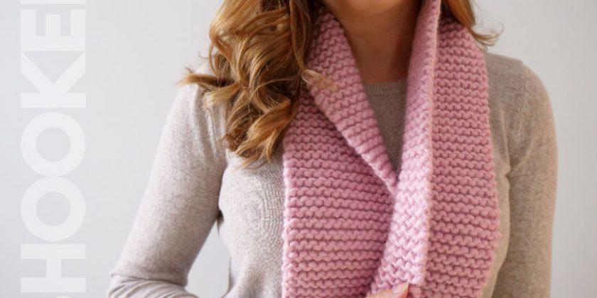 Beginner Knit Scarf