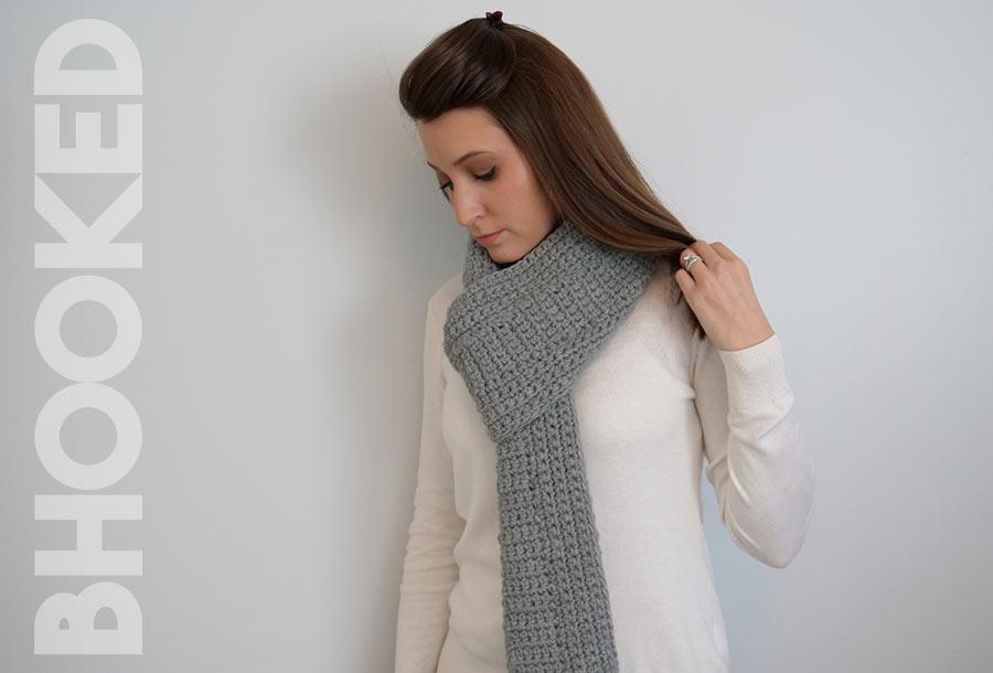Minimalist Crochet Scarf