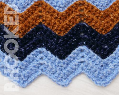 Chevron Crochet Stitch