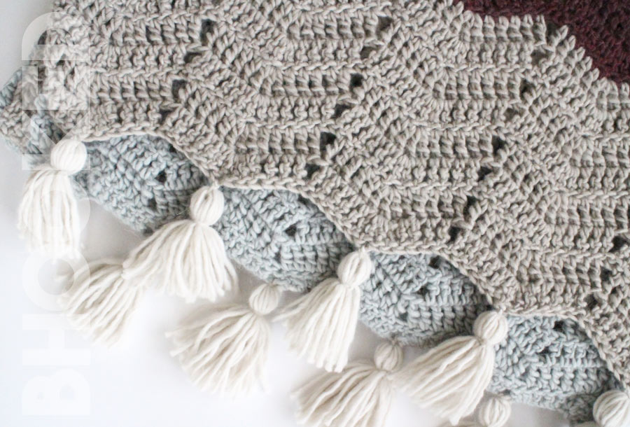Chevron Crochet Wrap