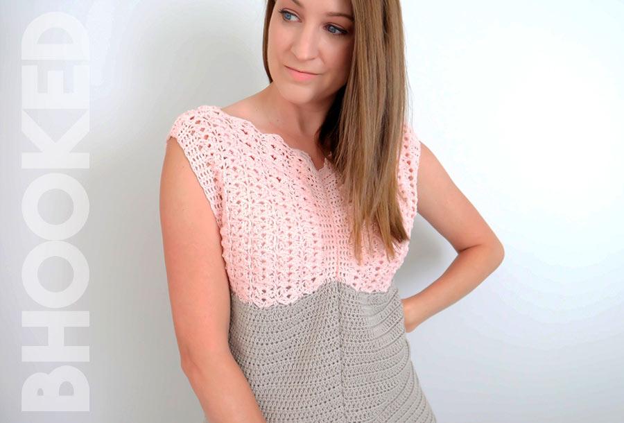 Summer Crochet Pullover