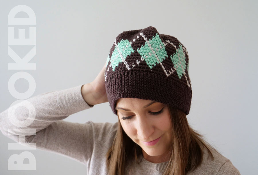 Argyle Crochet Hat