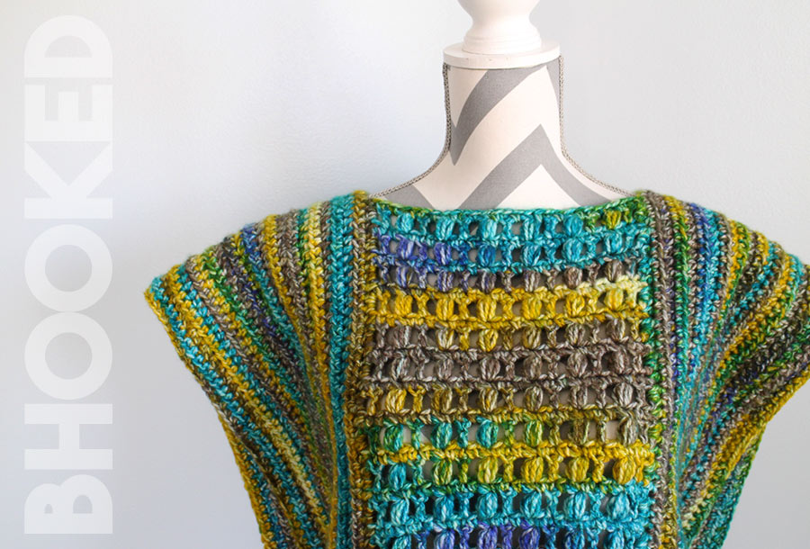 Easy Crochet Poncho