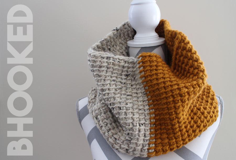 Tunisian Crochet Super Cowl