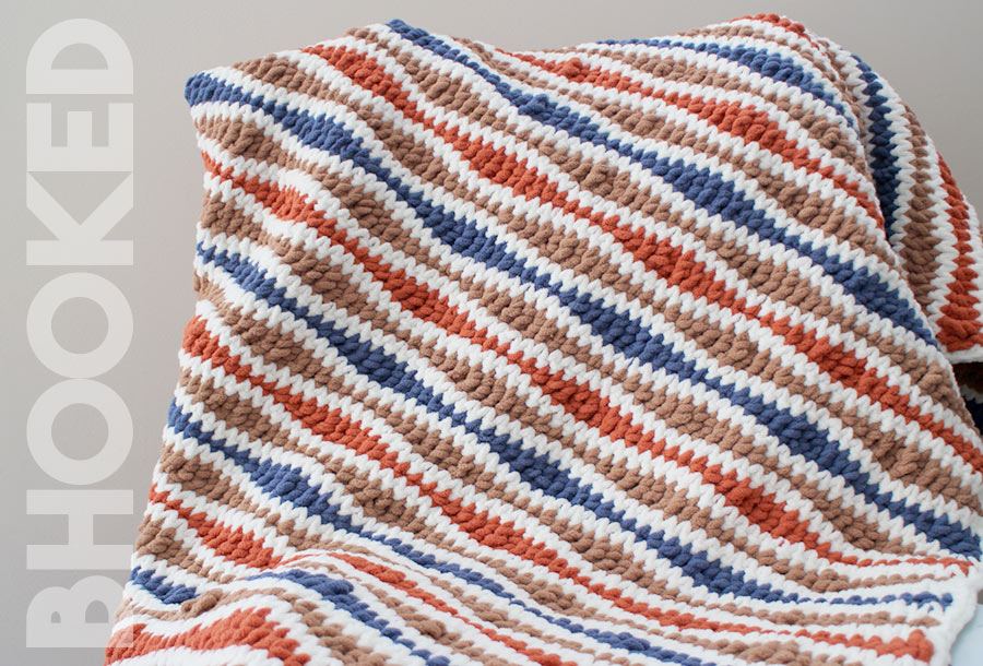 Wavelength Crochet Blanket