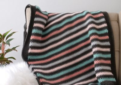 Full Stitch Tunisian Crochet Blanket
