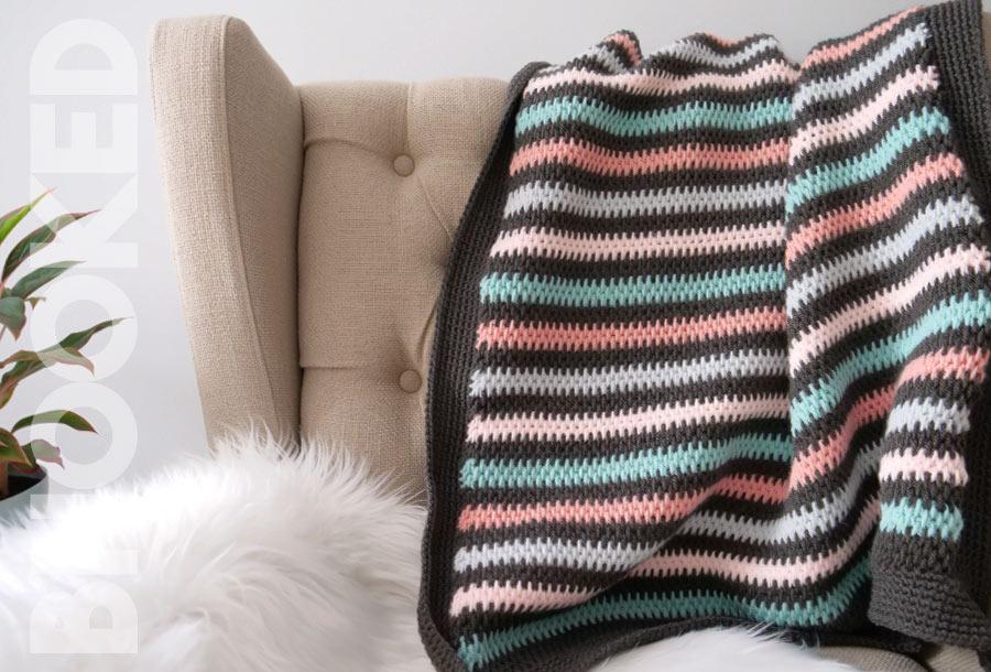 Full Stitch Tunisian Crochet Blanket