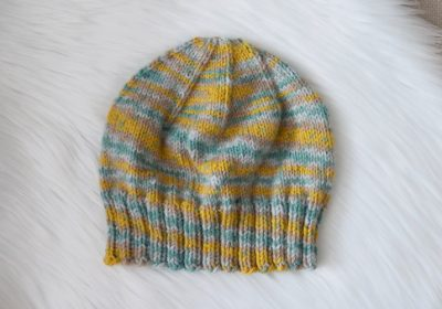 Everyday Knit Hat for Medium & Light Weight Yarn