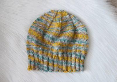 Everyday Knit Hat for Medium & Light Weight Yarn