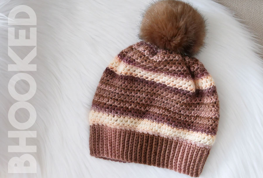 Woven Stitch Crochet Hat