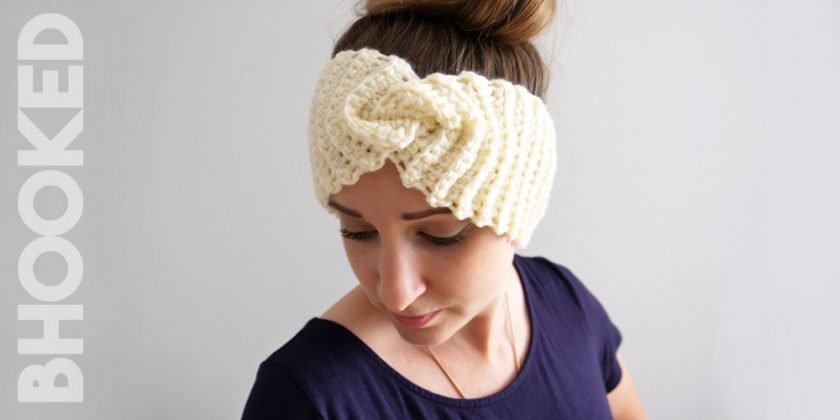 Simple Ribbed Crochet Headband