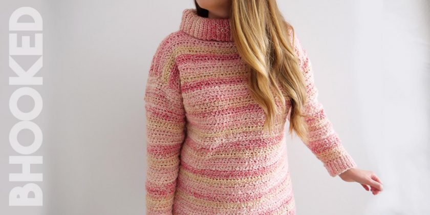 The Lounge Crochet Pullover Sweater