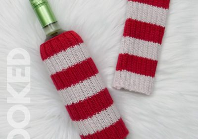 Knit Wine Bottle Sweater