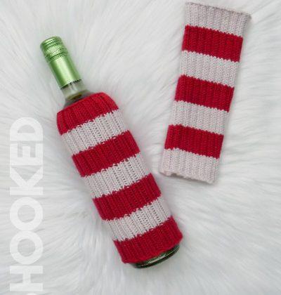 Knit Wine Bottle Sweater