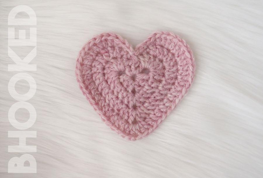Crochet Heart Patch