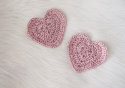Crochet Heart Patch