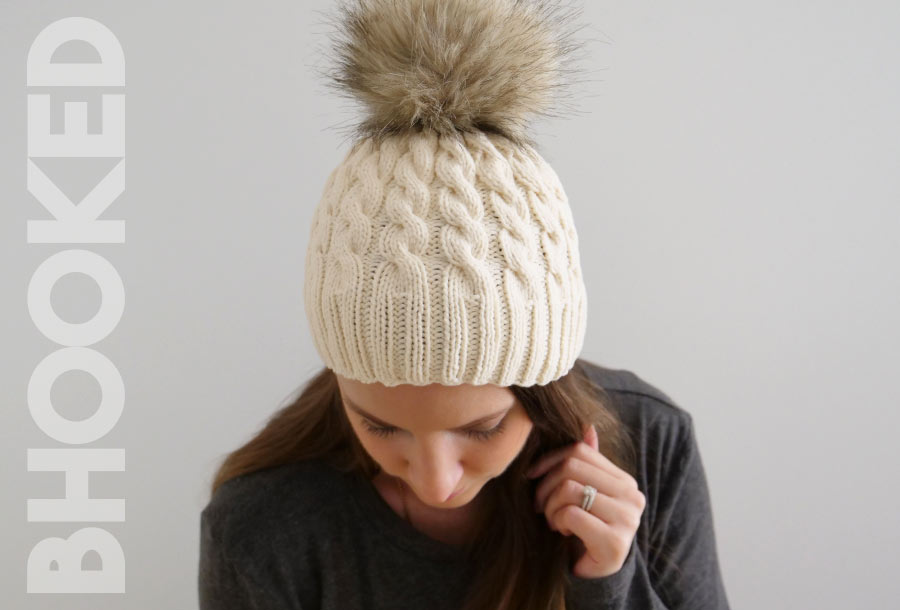 classic Cable Knit Hatt