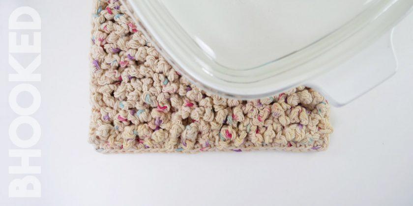 Textured Crochet Trivet