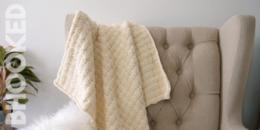Cuddle Knit Baby Blanket
