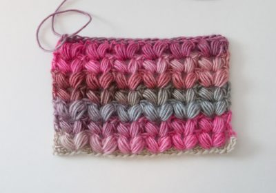 Crochet V Puff Stitch