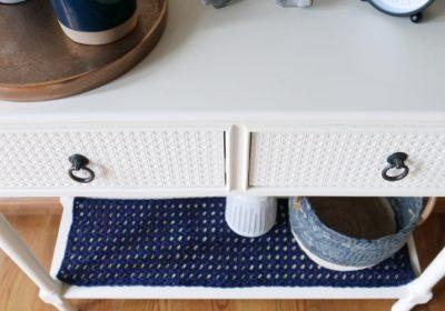 Crochet Console Table Runner