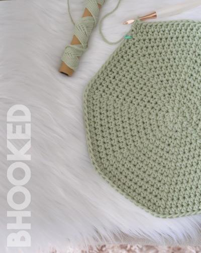 Round Crochet Placemats Progress