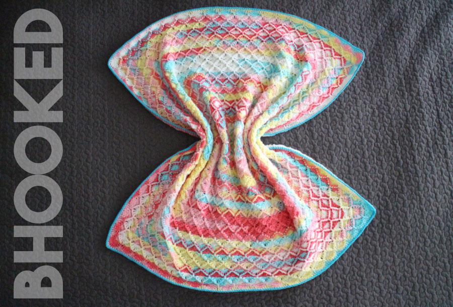 Catherine Wheel Crochet Baby Blanket
