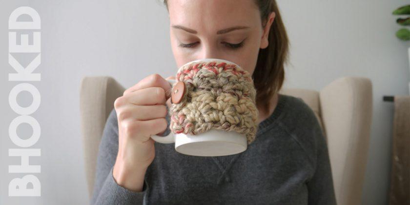 Simple Crochet Mug Cozy